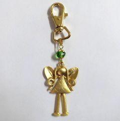 Melekler sayesinde artık anahtarlarınızı hiç kaybetmeyeceksiniz. Ölçüler: 3,5 cm x 6,5 cm (anahtar halkası hariç ölçülerdir)