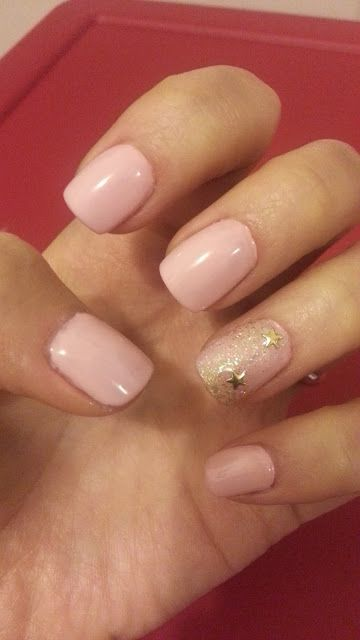 Gel nail art NYC 036 - UV gel extension on my nails with sweet pink color | (example: Themes Hive)