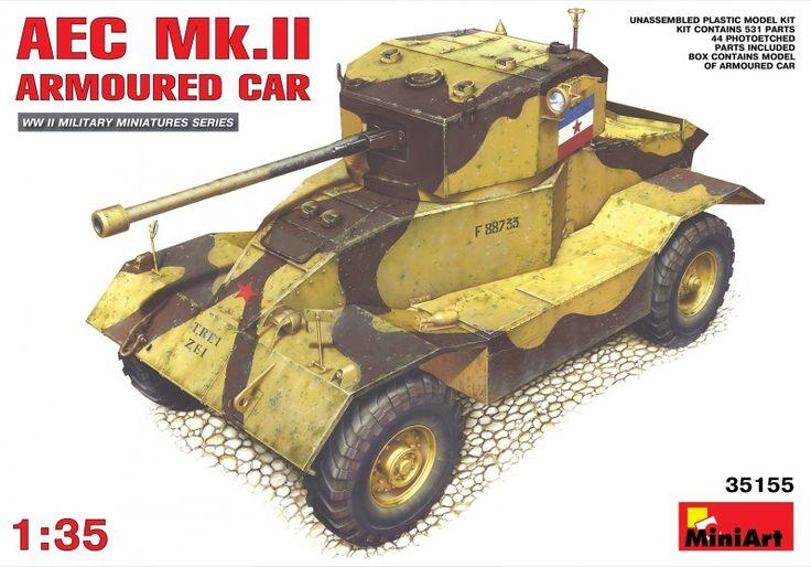 span lang =enAEC Mk.II Armoured Car – MiniArt 35155/span