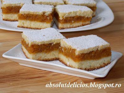 Absolut Delicios - Retete culinare: PRAJITURA TURNATA CU DOVLEAC