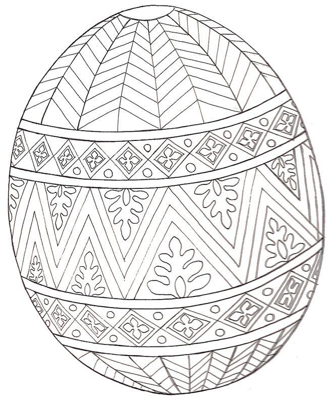 Easter printables: Easter egg mural printable | Jan Brett