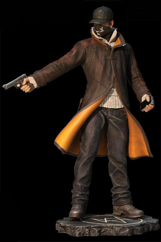 Watch Dogs statuette Aiden Pearce Execution Ubisoft