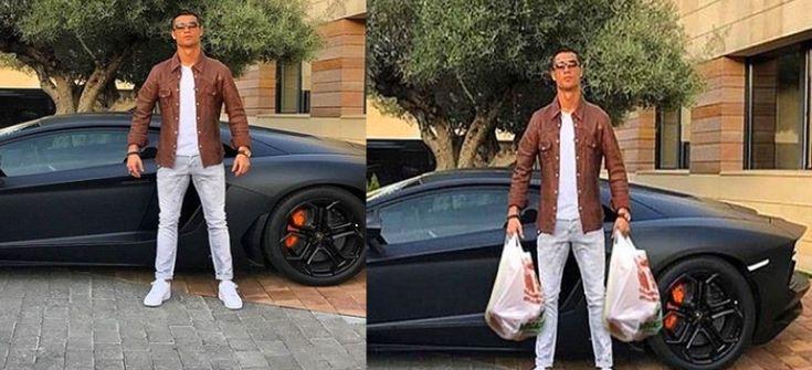Lamborghini'siyle Poz Veren Ronaldo'ya Yapılmış birbirinden komik Shoplar