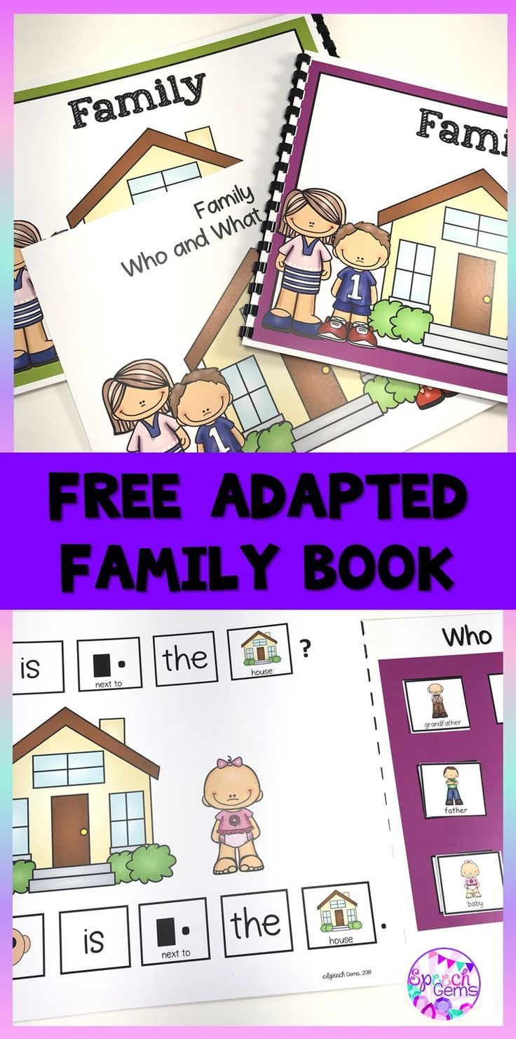 Using Adapted Books in Speech Therapy – Free