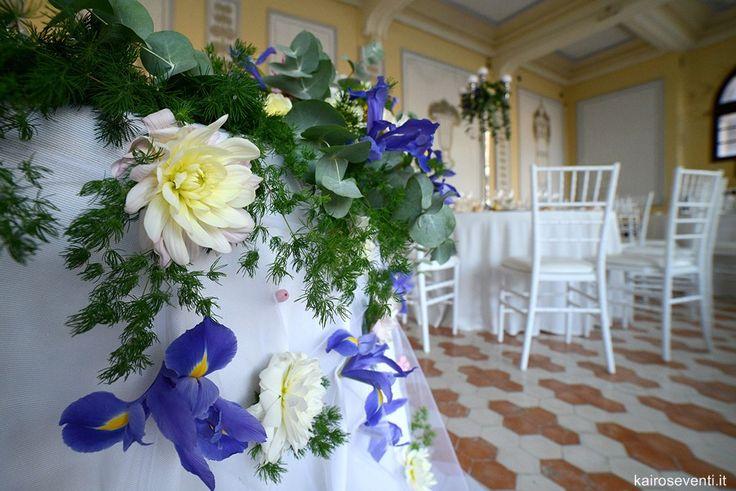 Particolare exclusive del tavolo degli sposi. Wedding designer & planner Monia Re - www.moniare.com | Organizzazione e pianificazione Kairòs Eventi -www.kairoseventi.it | Foto Photo27