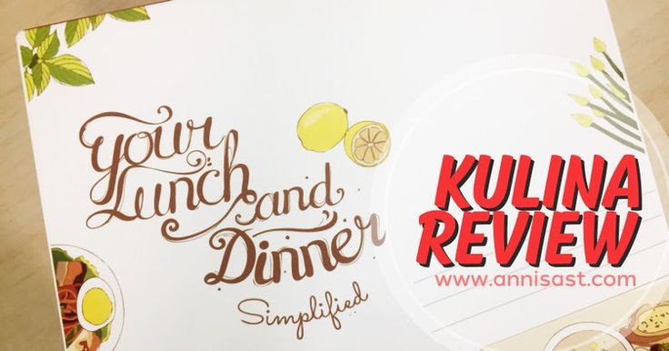 Review Kulina, Katering Tanpa Ribet