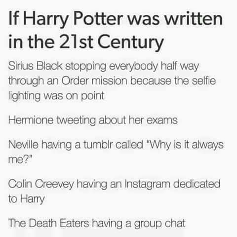 """yes omg and malfoy's twitter account is called either """"therealdracomalfoy"""" or """"whateveritspottersfault"""""""