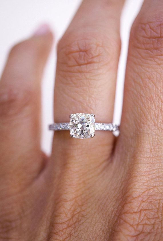 Tiffany Co Cushion Diamond Engagement Ring Cushion Shape Diamond Tiffany S Novo Collection Novo Ring Cushion Engagement Ring