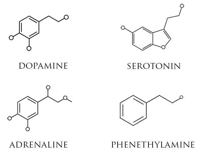 dopamine molecular structure - Google Search