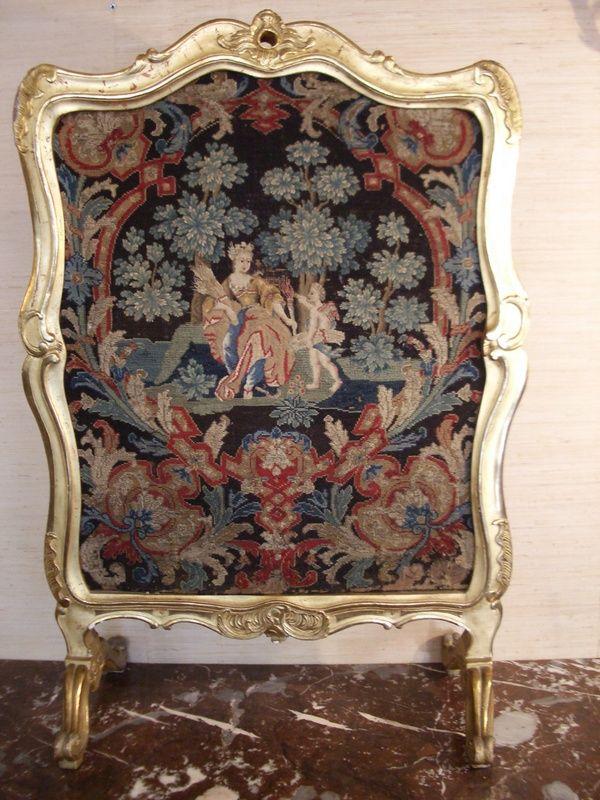 Fireplace Design antique fireplace screen : 77 best Antique Fire Screens images on Pinterest