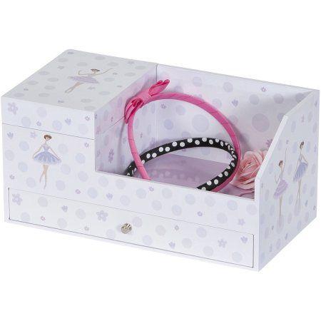 Mele Designs Joss Girl's Musical Ballerina Jewelry Box & Organizer