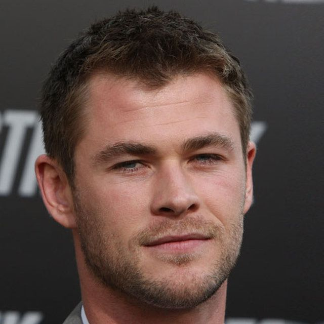 Pictures of Men's Short Haircuts - Gallery 3: Chris Hemsworth's Messy Ivy League