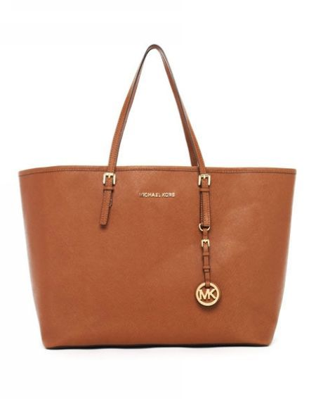 MICHAEL Michael Kors Jet Set Travel Tote Luggage Saffiano Leather