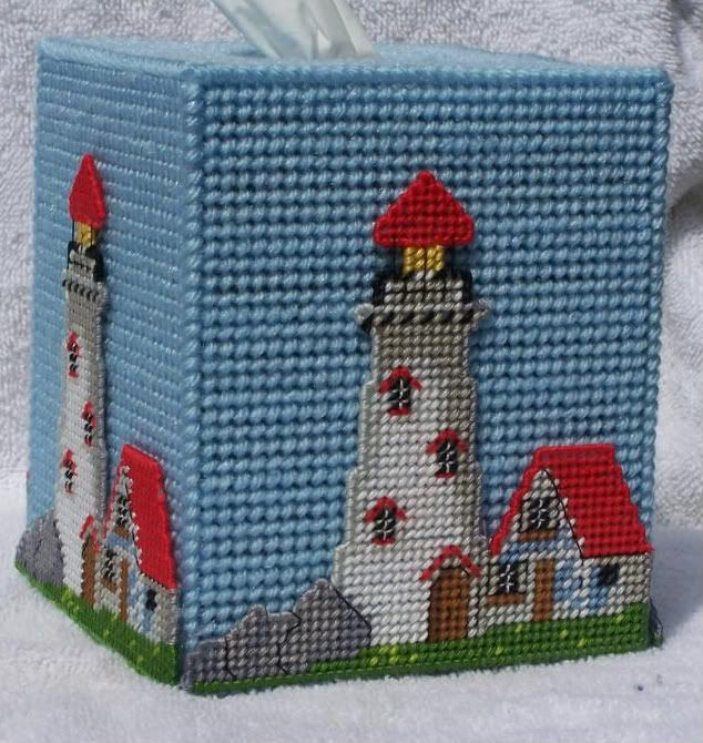Plastic Canvas Bear Free Patterens | Lighthouse Tissue Box Image | Lighthouse Tissue Box Picture Code
