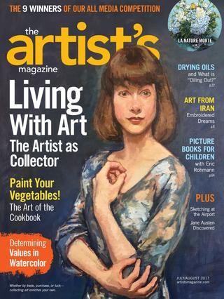 The Artist's Magazine 2017 07 08 V34 N06