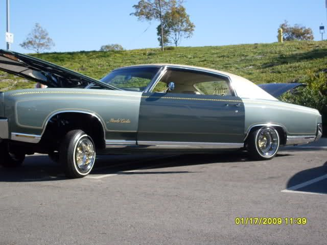 """1971 motecarlo lowrider 