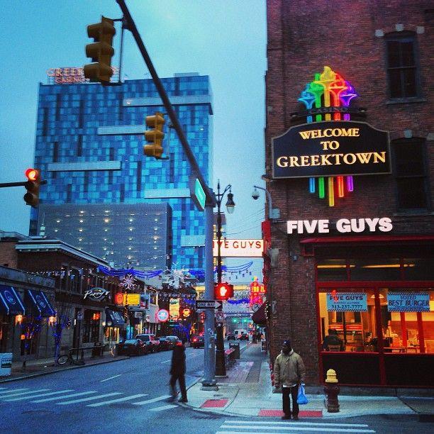 Greektown casino patio compulsive gambling treatment