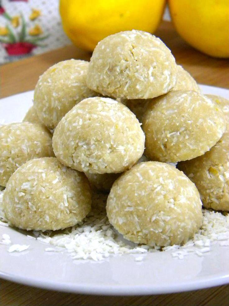 ADDICTED to VEGGIES: Coconut-Lemon Meltaways
