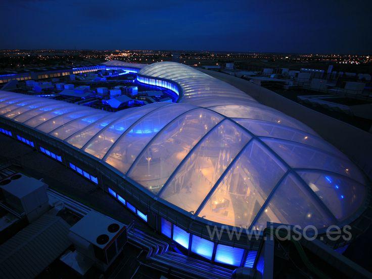 IASO S.A., Arquitectura Textil ETFE Centro comercial Islazul 2