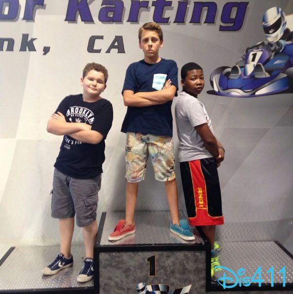 "Photo: ""Kirby Buckets"" Boys Go Karting September 5, 2014"