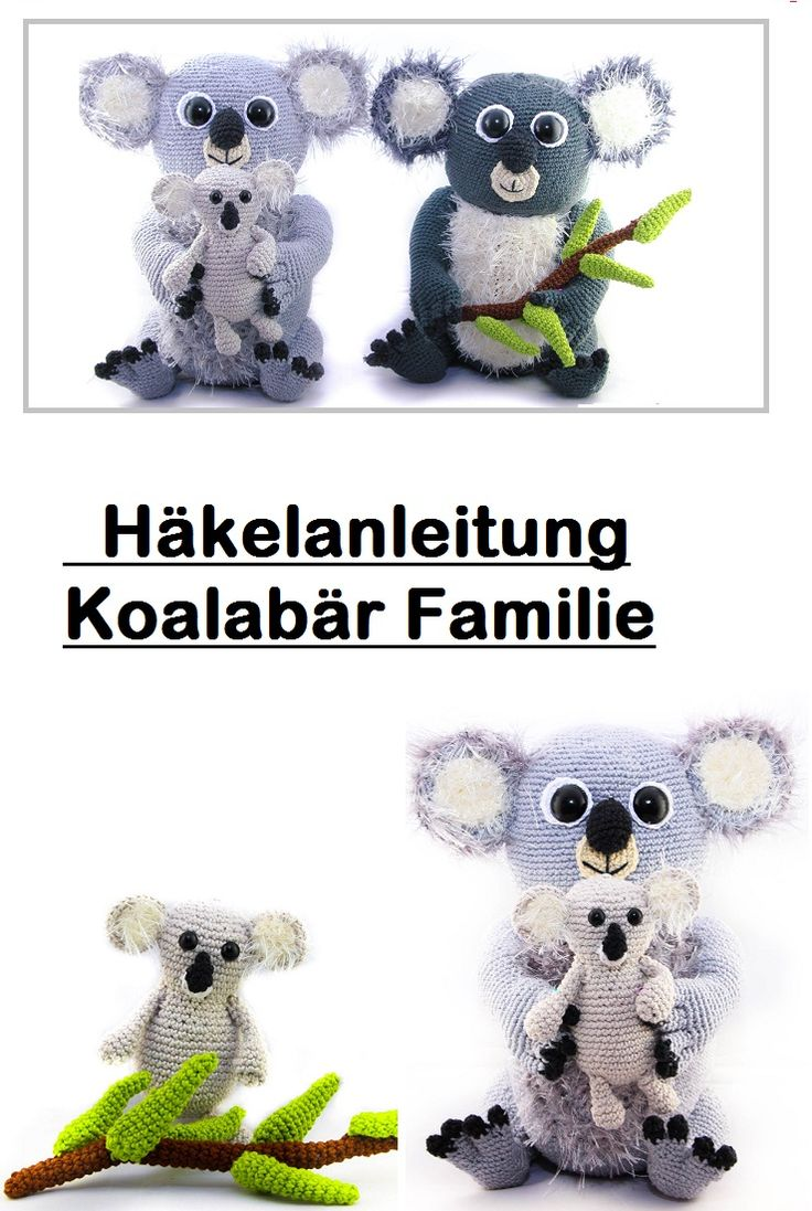 The 56 best PDF Häkelanleitungen images on Pinterest | Amigurumi ...