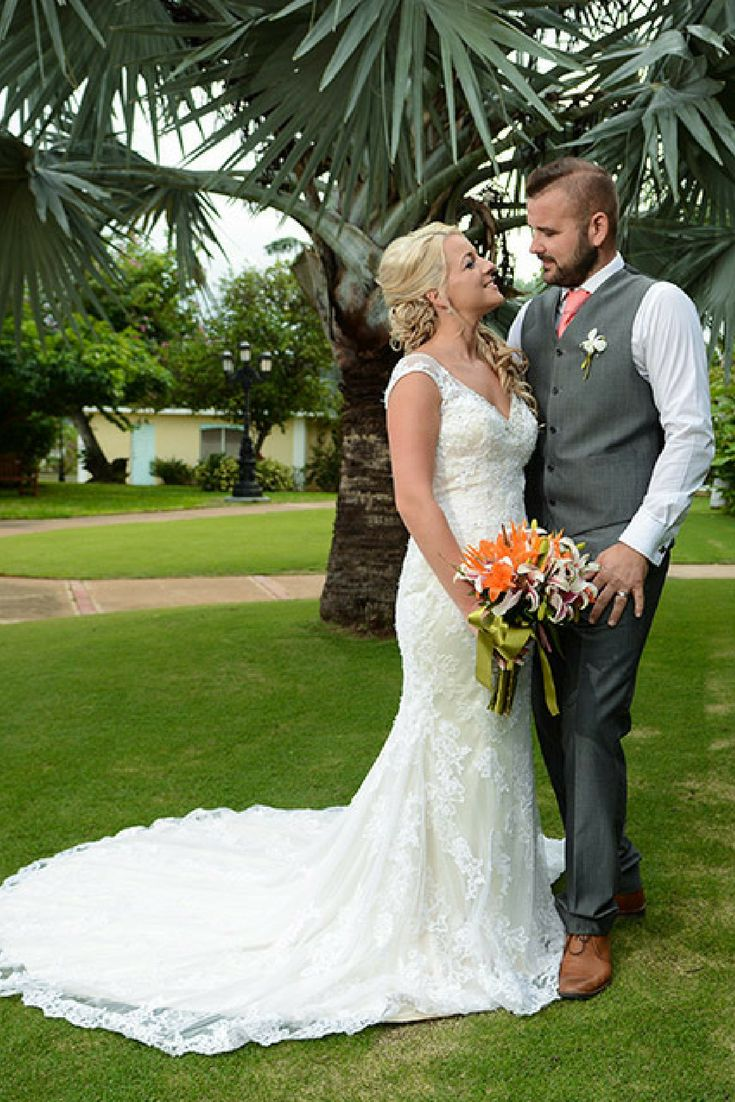 Gorgeous garden weddings are Sandals Montego Bay | Jamaica Destination Weddings | Sandals Resorts Weddings