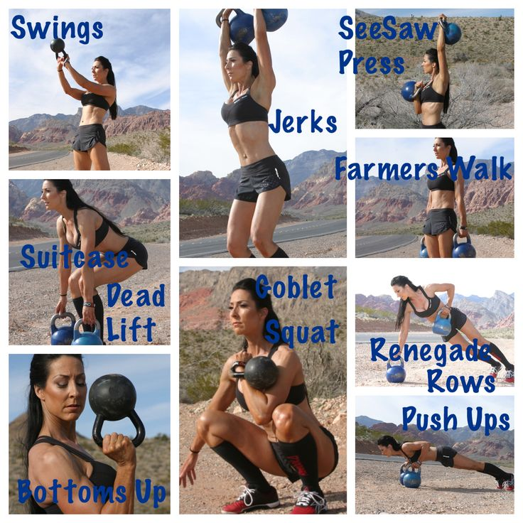 Kettlebell Bombshell Workout; 1) Swings  2)Suitcase Deadlifts 3)Bottoms up Press 4)Jerks 5)Goblet Squat 5)See Saw Press 6)Farmers Walk 7)Renegade Rows 8)Push Ups   #Kettlebells #ReebokOne #KettlebellBombshell #FitFam #FitFluential #Workout #Wod #CrossFit