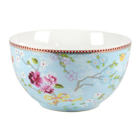 Pip Studio ~ Chinese Rose Bowl ~ Blue*