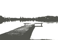 The lake: Walltat Decals, Scenic Walltat Com Art, Dock Lakes, Boys Rooms, Wall Decals, Galleries Wall, Dockwal Decals, Dock Wall, Art Wall