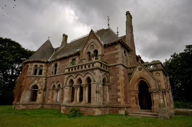 Pin By Gonzogato Mews On Institutions And Orphanages In 2020 Arbroath Creepy Houses Orphanage