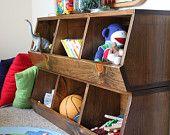 Storage Bins - Chicken Coop Style  - Woodworking Plans. $10.00, via Etsy.