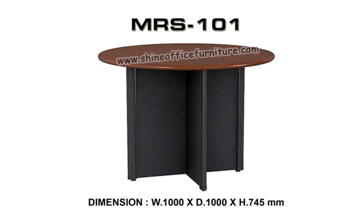 www.shineofficefurniture.com Meja meeting bundar merk VIP MRS-101 By Shine Furniture