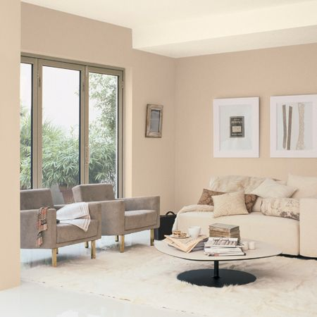 Calm contemporary living room pinterest products for Dulux living room designs