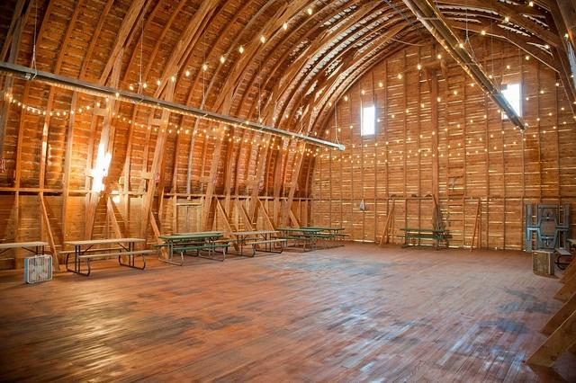 big yellow barn.  belgrade, montana wedding venue.
