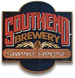 Southend Brewery  and Smokehouse, located in downtown Charleston. Lehman's loved their wood oven pizzas!