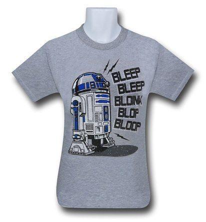 Star Wars R2D2 Speaks Tee