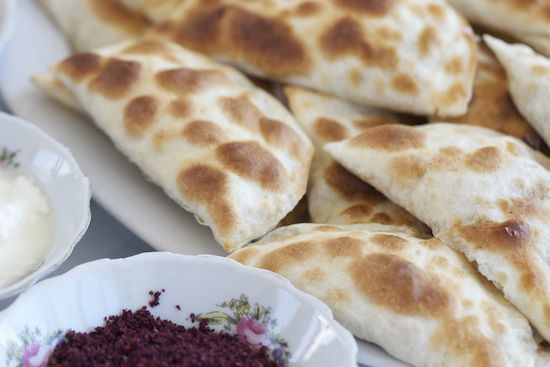 Filled Flatbreads, Corat Style