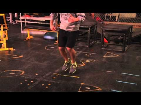 ▶ Hockey Training Workout: Off-Ice Quickness Drills - YouTube