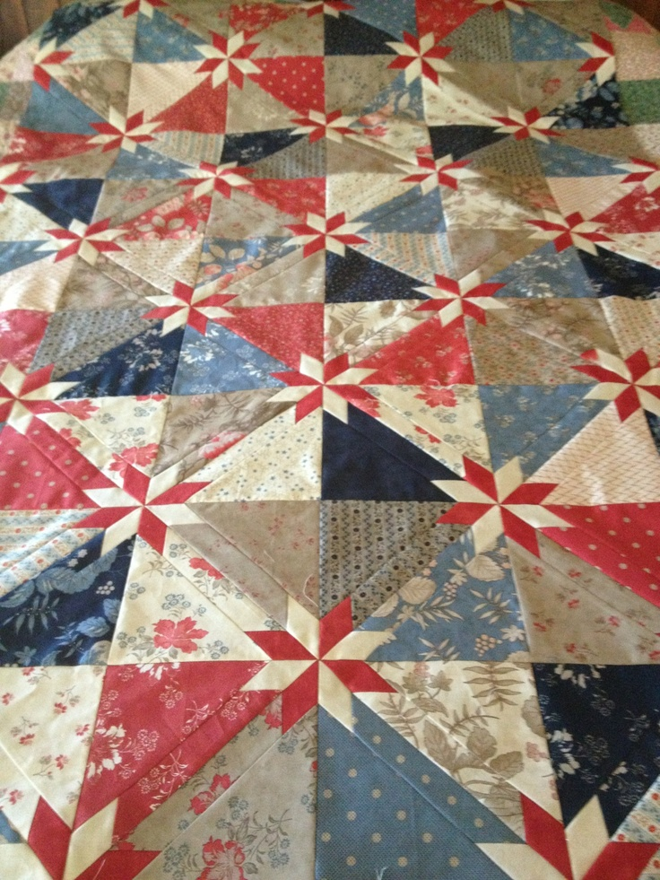 Wendy W Hunters Star Quilt Quilts Pinterest