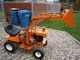 Simplicity 738 garden tractor front
