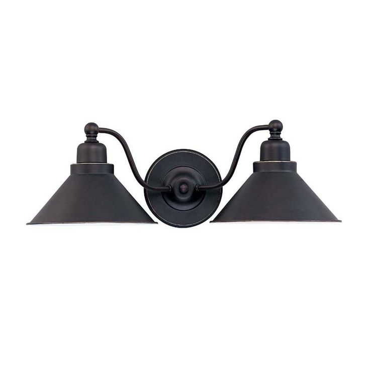 Nuvo Lighting 60 1711 2 Light Bridgeview Wall Sconce Mission Dust Bronze Home