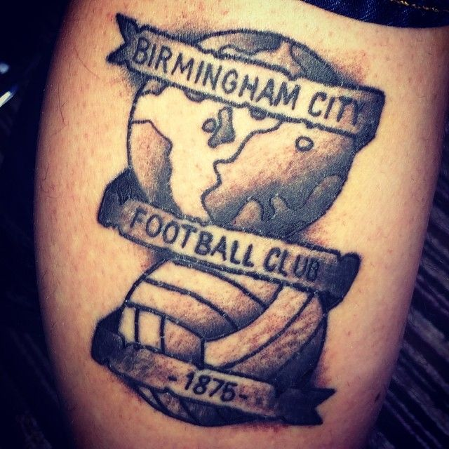 my new tattoo bcfc kro birmingham city fc pinterest new tattoos and tattoos and body art. Black Bedroom Furniture Sets. Home Design Ideas