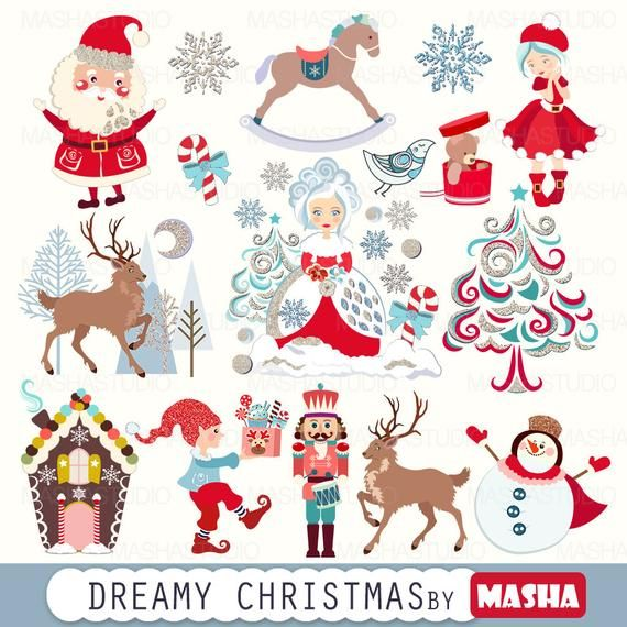 36++ Santa claus and reindeer clipart information