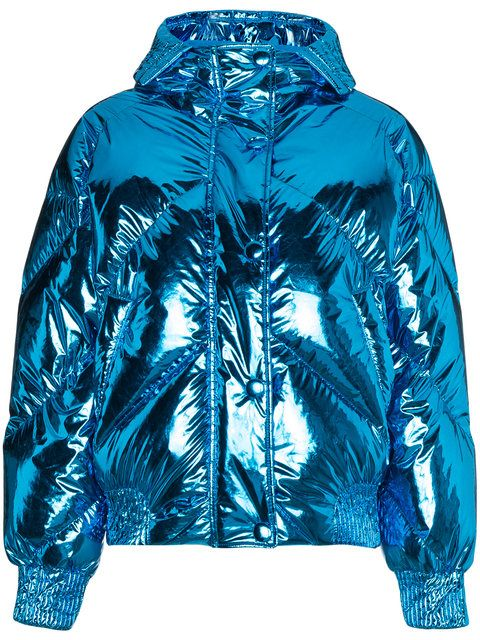 aac0b599f55d Ienki Ienki Metallic cropped puffer jacket