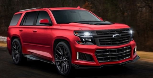 2021 Chevy Tahoe Rumors, News, Spy Photos, Rendering Image ...