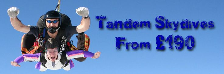 Tandem Skydives from £190