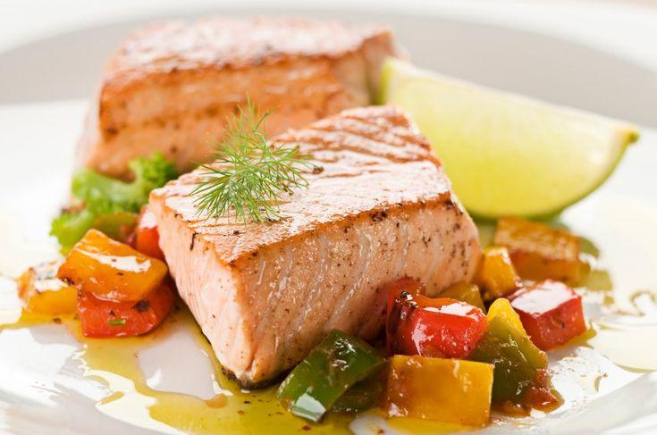 Losos na pare s grilovanou zeleninou | Svet zdravia - Oficiálne stránky