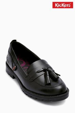 Cumpără Pantofi de lac fără șiret Kickers® negri azi online la Next: România