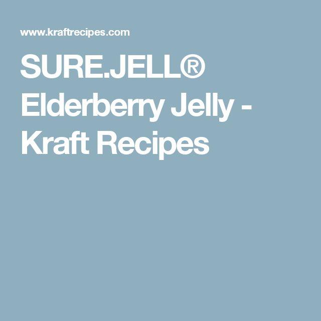 SURE.JELL® Elderberry Jelly - Kraft Recipes