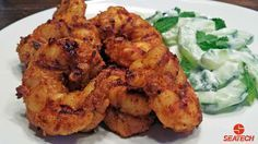 Curry Grilled Argentine Red Shrimp Recipe. This is the best curry shrimp I have ever eaten.